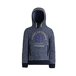Regatta - Blue 'Fintan' boys fleece sweater