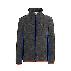 Regatta - Grey 'Ascendo' kids fleece jacket