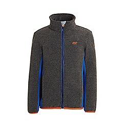 Regatta - Black 'Ascendo' kids fleece jacket