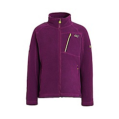 Regatta - Purple 'Balos' kids fleece