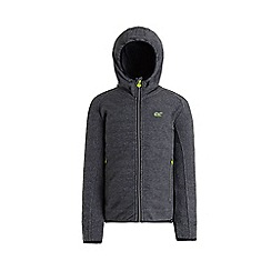 Regatta - Grey 'Totten' kids hooded fleece