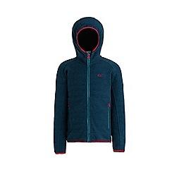 Regatta - Blue 'Totten' kids hooded fleece