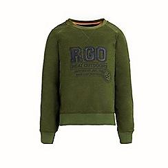 Regatta - Green 'Breck' boys fleece sweater
