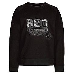 Regatta - Black 'Breck' boys fleece sweater