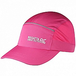 Regatta - Pink 'Shadie' kids adjustable sports cap