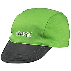Regatta - Kids Green pack it reversible peak cap
