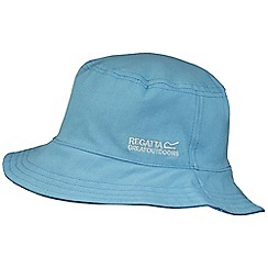 Regatta - Kids Blue cruze reversible hat