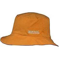 Regatta - Kids orange and pink cruze reversible hat
