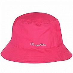 Regatta - Pink 'Crow' kids sun hat