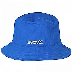 Regatta - Blue 'Crow' kids sun hat