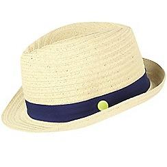 Regatta - Cream/white 'Takiyah' kids sun hat