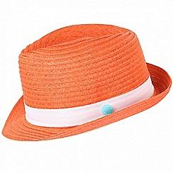 Regatta - Orange 'Takiyah' kids sun hat