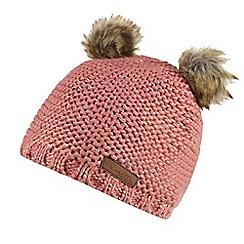 Regatta - Pink 'Hedy lux' kids hat
