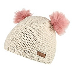 Regatta - Cream 'Hedy lux' kids hat