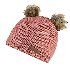 Regatta - Pink 'Hedy lux' kids hat