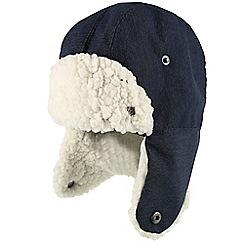 Regatta - Blue 'tavis trapper' kids hat