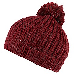 Regatta - Red 'Luminosity' kids hat