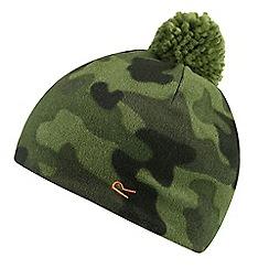Regatta - Green 'Fallon' kids pom pom hat