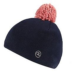 Regatta - Blue 'Fallon' kids pom pom hat
