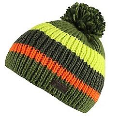 Regatta - Green 'Davin' kids hat