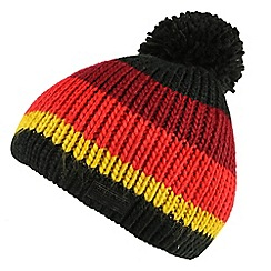 Regatta - Black 'Davin' kids hat