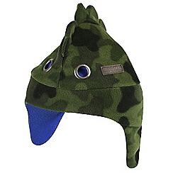 Regatta - Green 'tarak trapper' kids hat