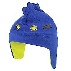 Regatta - Blue 'tarak trapper' kids hat
