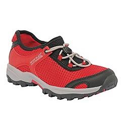 Regatta - Red/ black kids platipus shoe