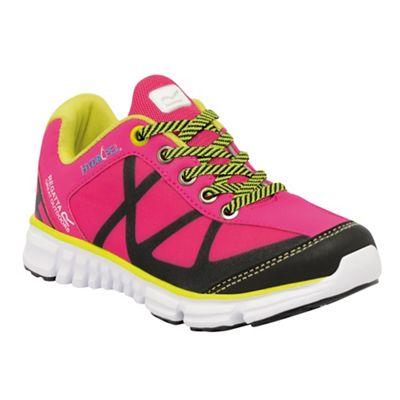 Regatta - Kids Pink hyper trail lightweight shoe