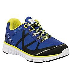 Regatta - Kids Blue hyper trail lightweight shoe