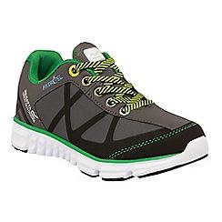 Regatta - Kids Grey hyper trail lightweight shoe