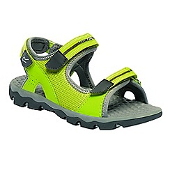 Regatta - Kids green terrarock junior active sandals