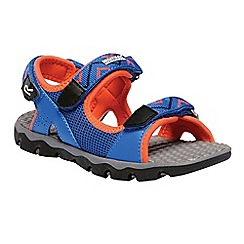 Regatta - Blue 'Terrarock' kids sandals