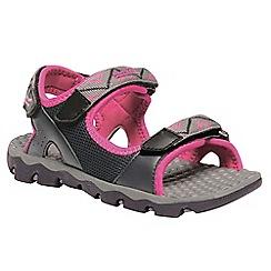 Regatta - Grey 'Terrarock' kids sandals