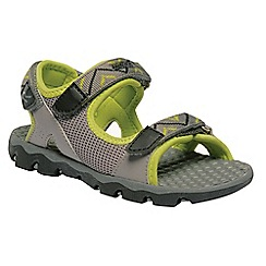 Regatta - Grey 'Terrarock' kids sandals