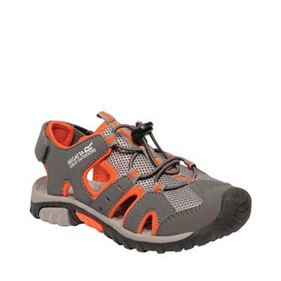 Regatta - Grey 'Deckside' kids sandals