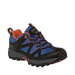 Regatta - Kids Blue Gatlin low walking shoe