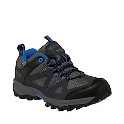 Regatta - Kids Grey Gatlin low walking shoe