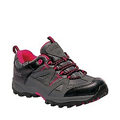 Regatta - Kids grey gatlin junior walking shoes
