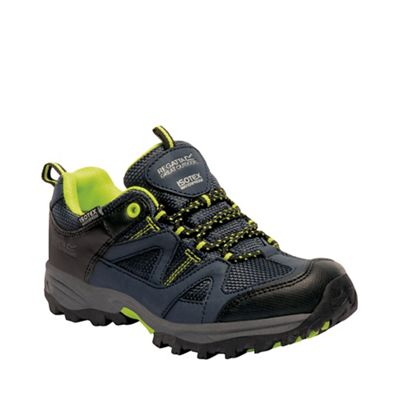 Regatta - Kids navy gatlin junior walking shoes