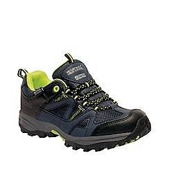 Regatta - Kids navy gatlin junior walking shoes