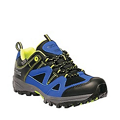 Regatta - Blue 'Gatlin' kids low walking shoes