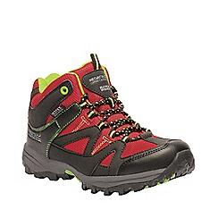 Regatta - Red kids 'Gatlin' mid walking boot