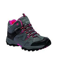 Regatta - Kids grey gatlin junior walking boots