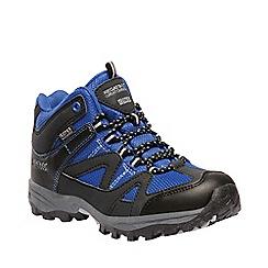 Regatta - Blue ''gatlin' kids walking boots