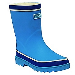 Regatta - Kids Blue Foxfire junior wellies
