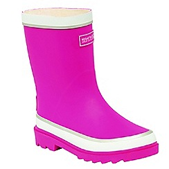 Regatta - Kids Pink Foxfire junior wellies