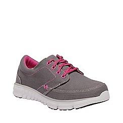 Regatta - Grey 'Marine' kids casual shoes