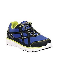 Regatta - Blue 'kota lite' kids casual shoes