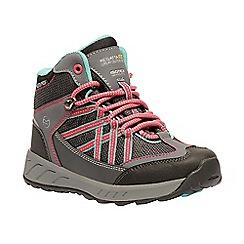 Regatta - Kids Grey 'Samaris' walking boot
